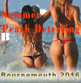 beach detecting bournemouth