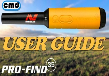 how to use all the features on a minelab Go find probe